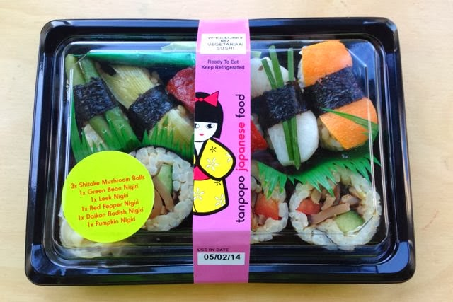 Tanpopo - Wholegrain Mix Vegetarian Sushi