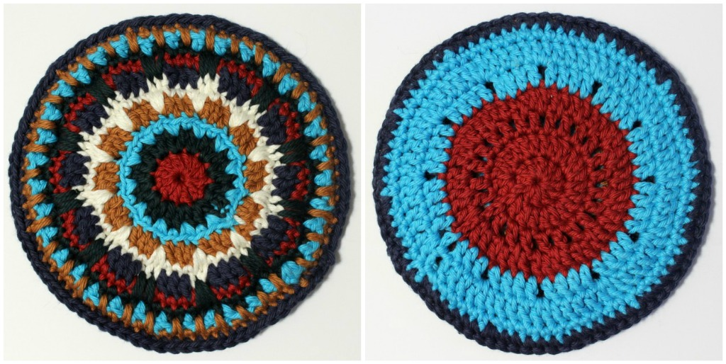 DIY crochet potholders
