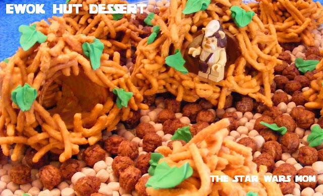 Star Wars Ewok Hut Dessert Recipe