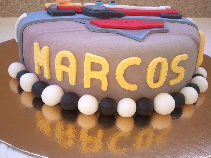 Dulce Silvita: Tarta Cars para Marcos