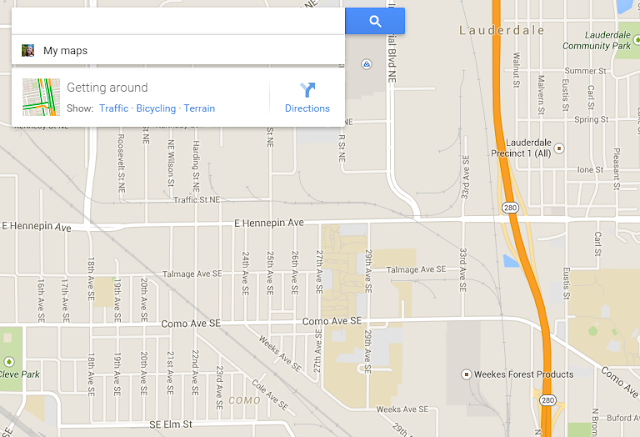 google map screenshot
