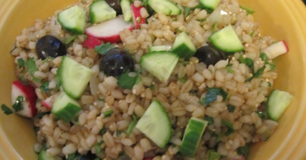 The Iraqi Family Cookbook: Wheat Berry Salad