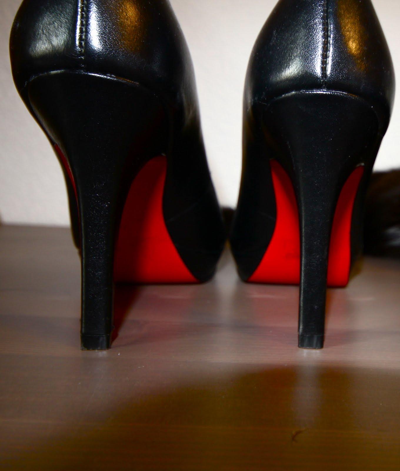 chaussure talon imitation louboutin