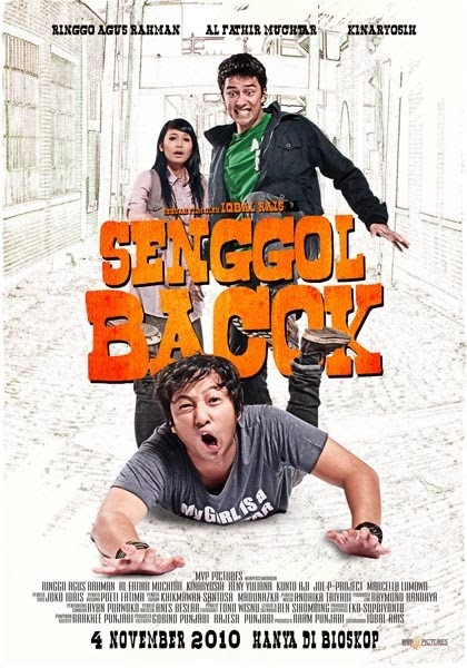 "Poster Film ""Senggol Bacok"" Komedi Indonesia Full Movie"