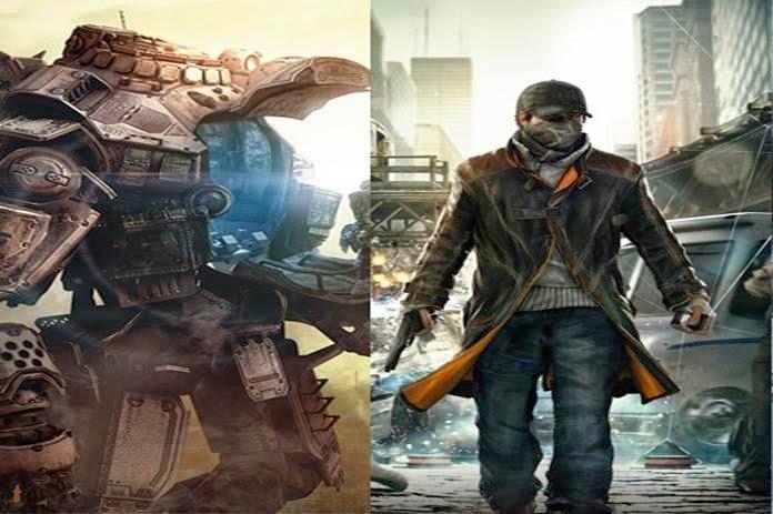Comparativo de gráficos entre as plataformas com Titanfall e Watch Dogs