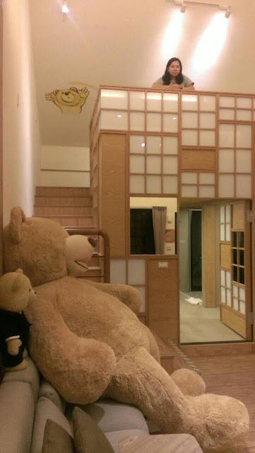 熊幸福閣樓雙人房