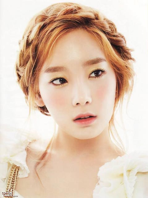 Taeyeon braided hairstyle