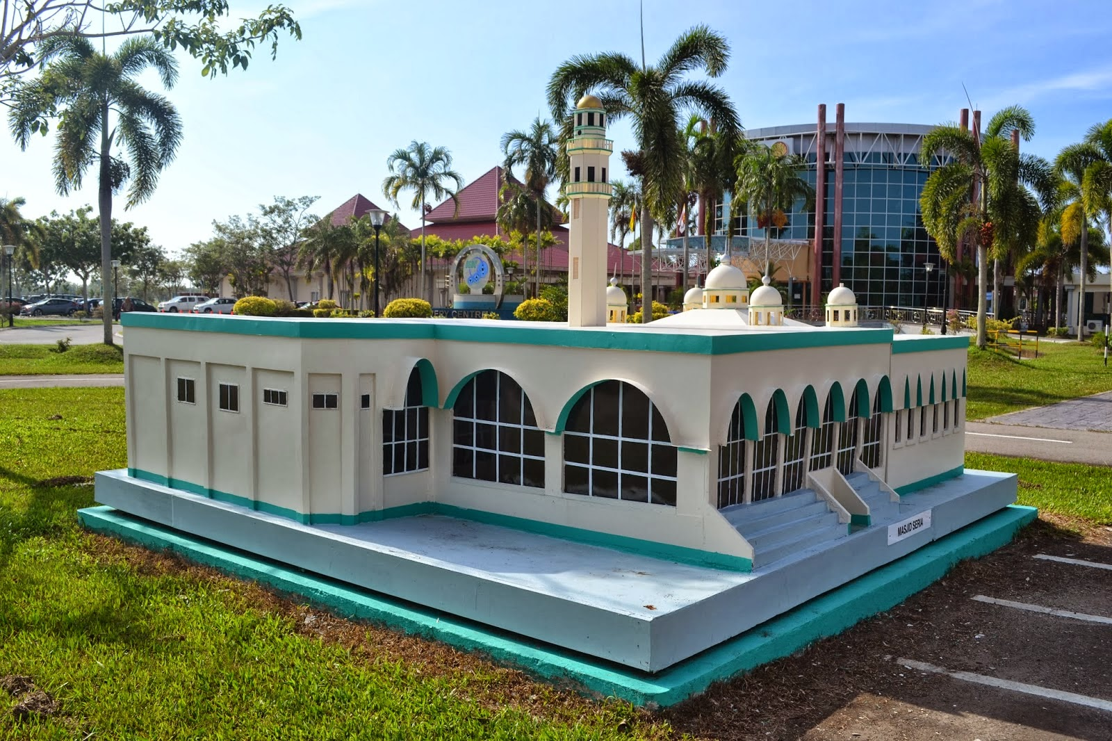 Replica of Historical Mosque in Kuala Belait Brunei