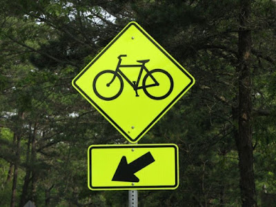 Biking Sign