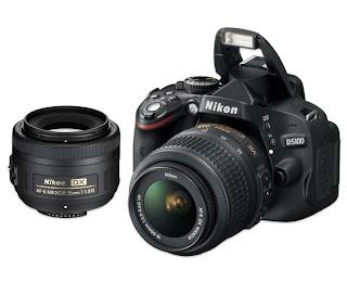 Nikon D5100 16.2 mp Digital Slr Camera Front View