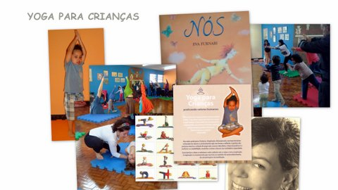 """Yoga para crianças """"Biblioteca Temática Hans Christian Andersen"""""""