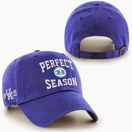 Kentucky Wildcats perfect season hat, Kentucky wildcats undefeated hat