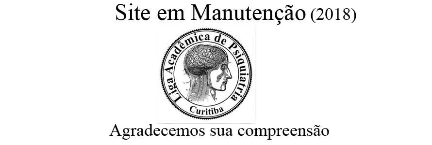 LAPSI Liga Acadêmica de Psiquiatria de Curitiba -  PUC PR