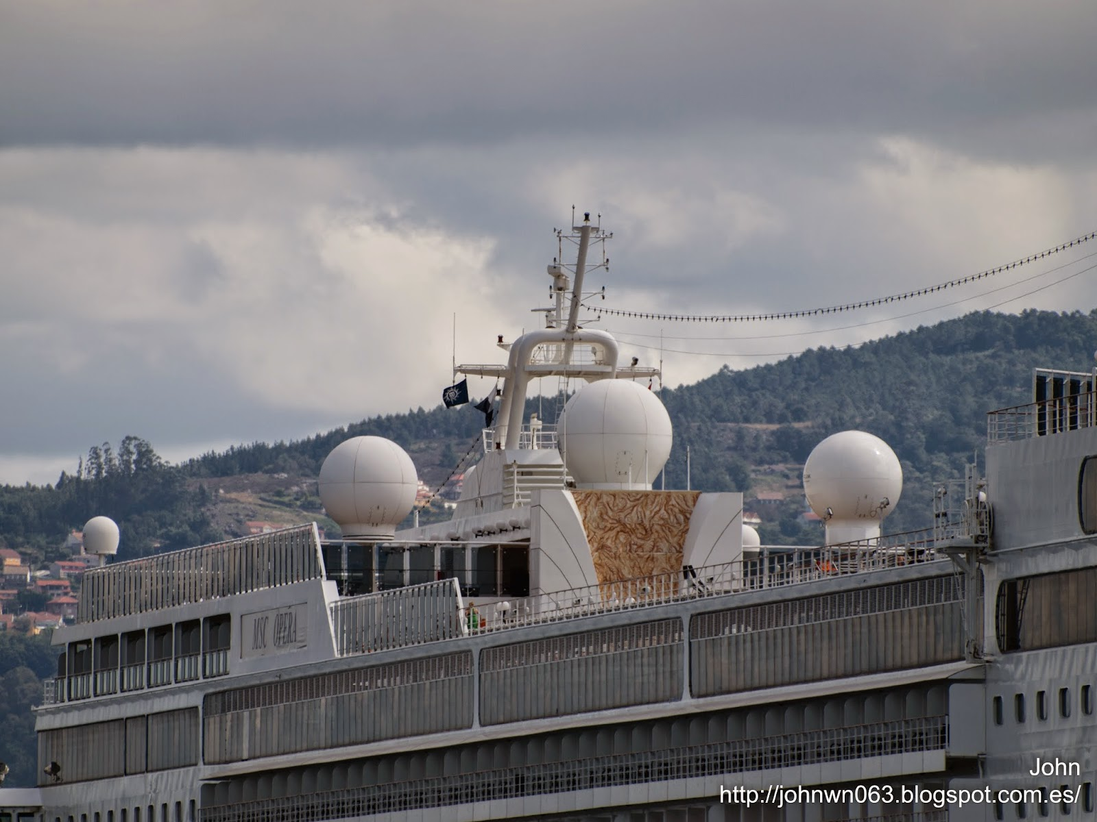 fotos de barcos, imagenes de barcos, msc cruceros, msc opera, vigo