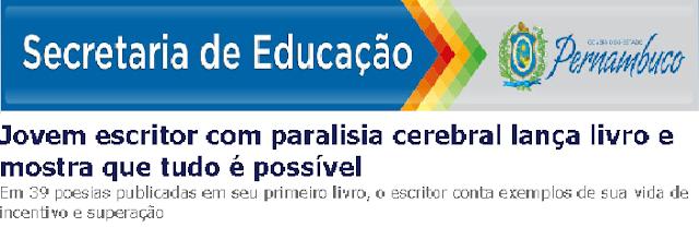 Entrevista feita pela Secretaria de Educação com o escritor Wagner Martins