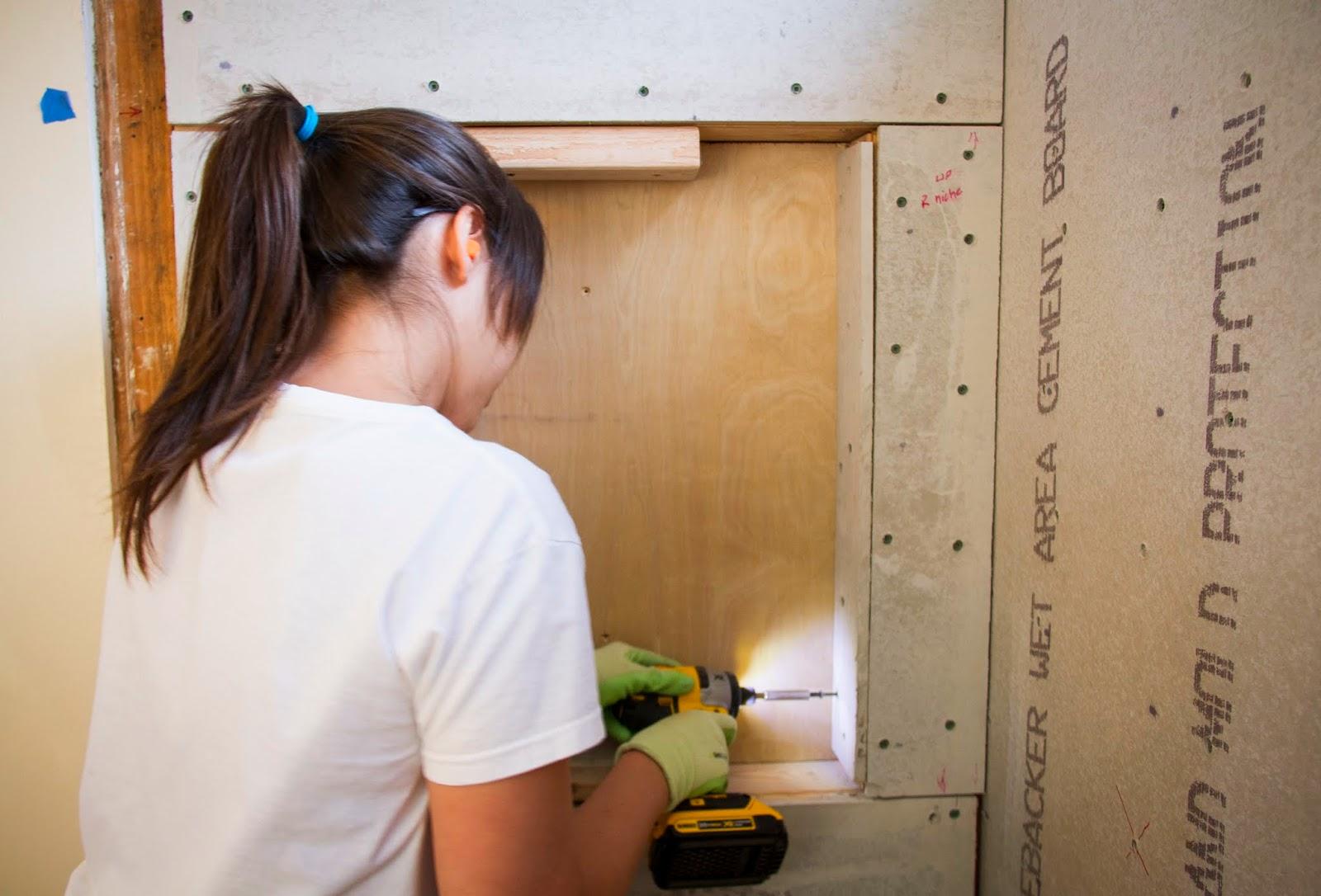 SwingNCocoa: Bathroom Remodel Part 4: Shower Tile Prep