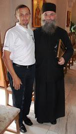 Alături de P.S. Melchisedec Velnic, stareţul M-rii Putna, Colocviile Putnei, 31.VIII-3.IX. 2011...