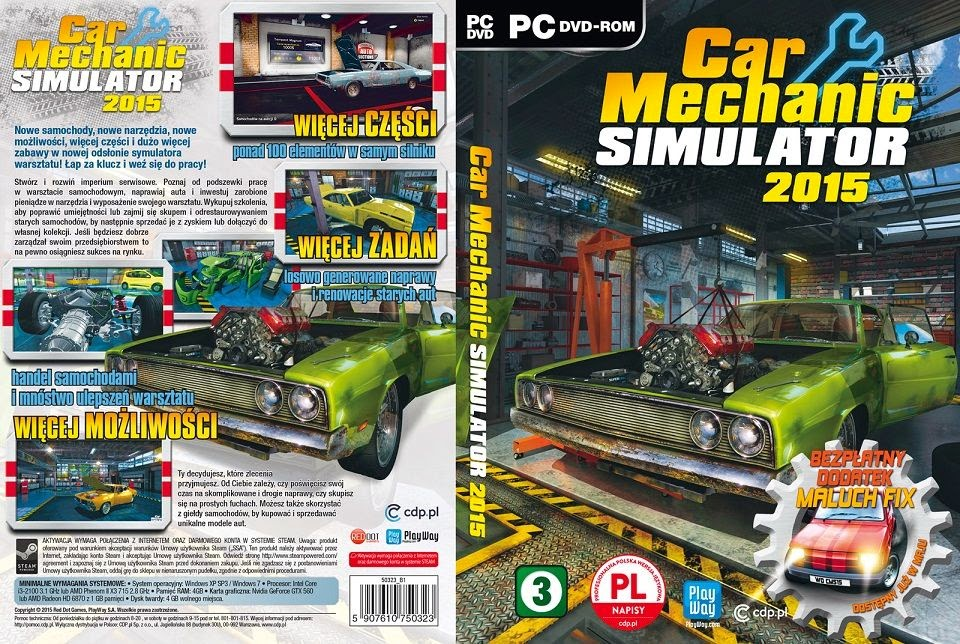 Download Car Mechanic Simulator 2015 CODEX car mechanic simulator 2015 pl pc XANDAODOWNLOAD