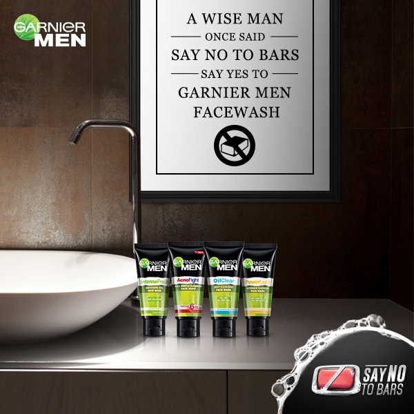 #SayNoToBars and win with Garnier Men