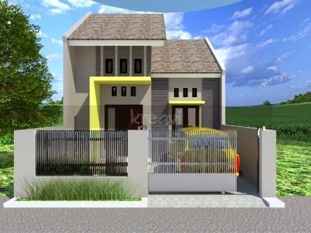 warna cat rumah minimalis bagian depan desain rumah