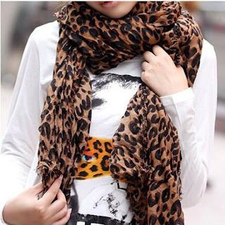 leopard scarf shawl wrap