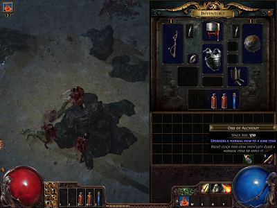 Path of Exile - Orb of Alchemy
