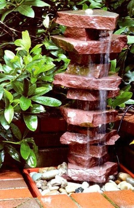 Водопад для дома как сделать