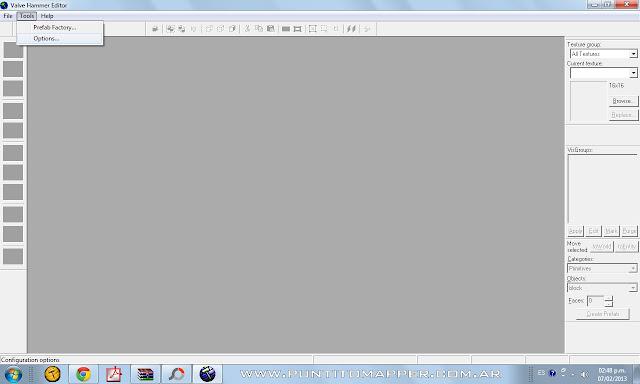 Configurar Valve Hammer Editor