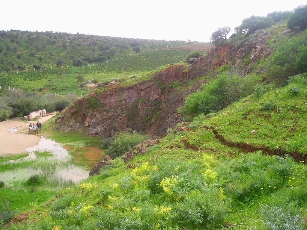 Risque de glissement de terrain à Benslimane
