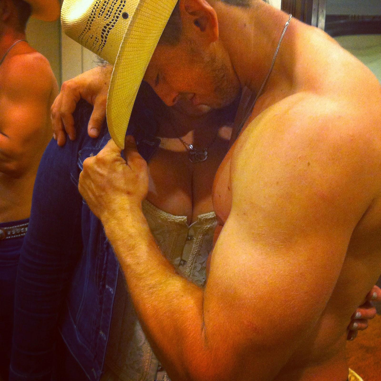 Anna Alexander and sexy cowboy