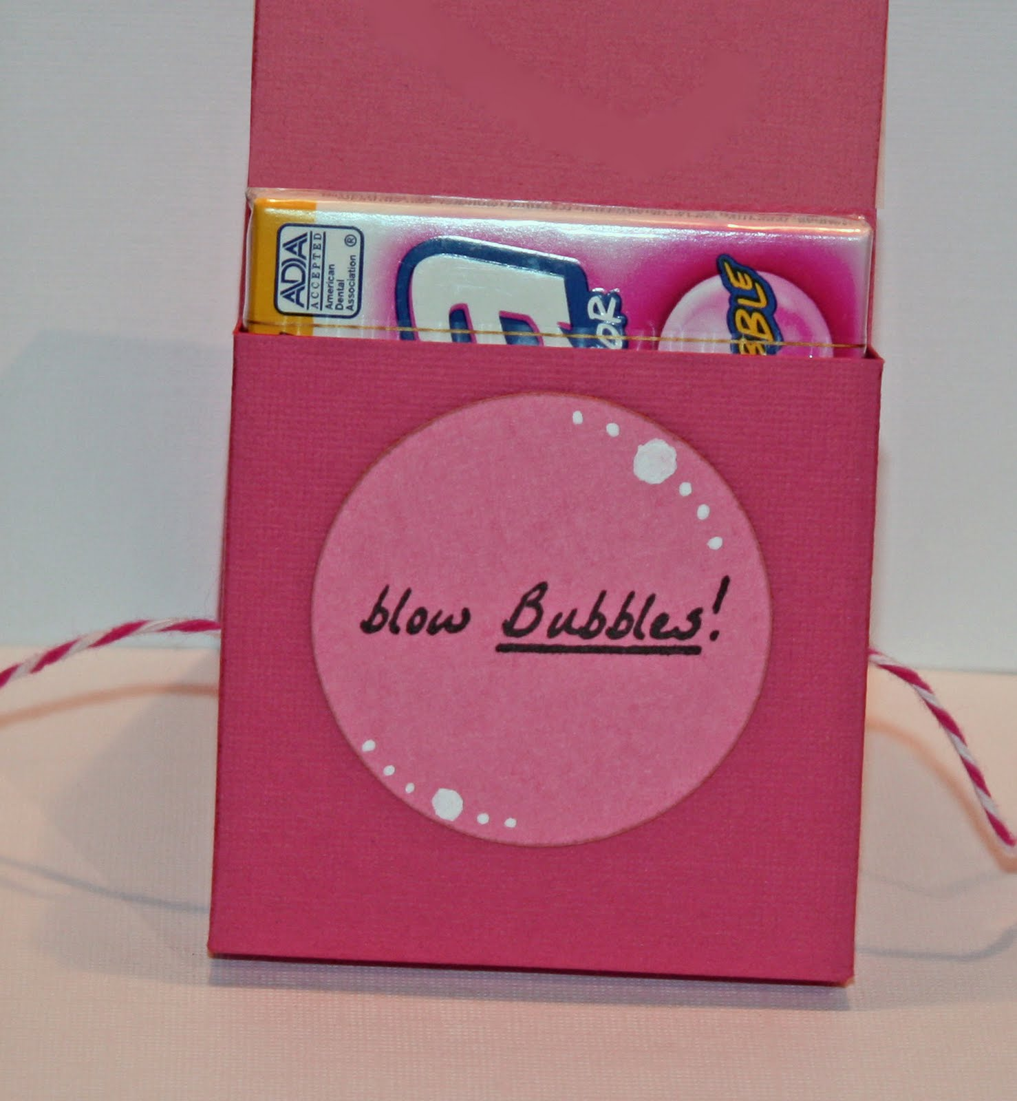 chewing gum sayings gift | just b.CAUSE