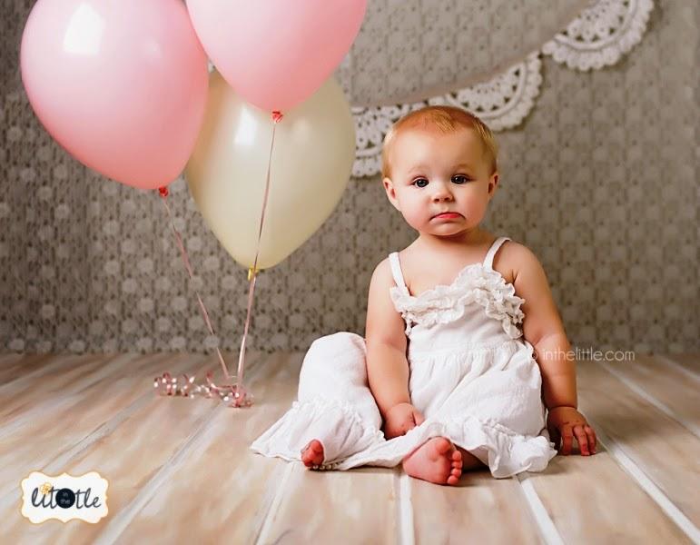 ekspresi lucu bayi ulang tahun pertama