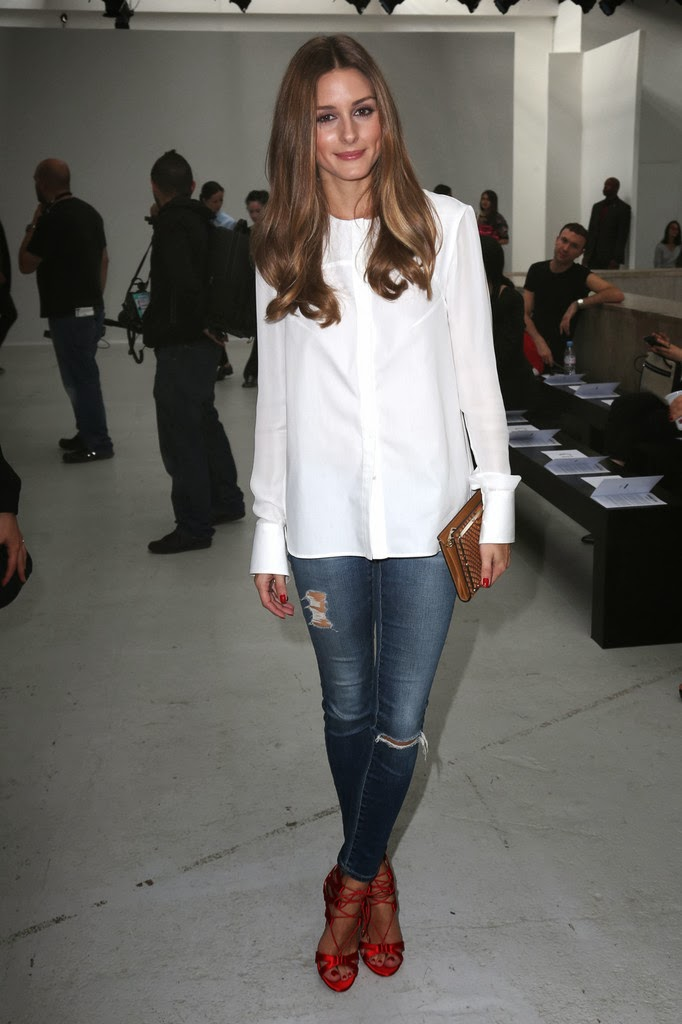 The Olivia Palermo Lookbook Paris Fashion Week Olivia Palermo At Veronique Leroy