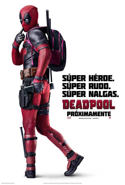 Deadpool la película. Deadpool_Poster_Latino_JPosters