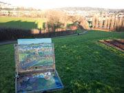 Bath views from Oldfield Park (oldfield park valeìrie pirlot )