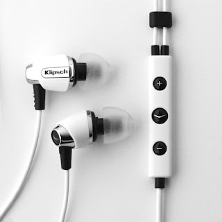 Klipsch IMAGE S4i-WH Premium Noise-Isolating Headset with 3-button Apple control
