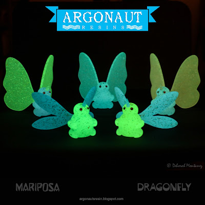 Mariposa Butterfly Wave 2 Resin Figures by Argonaut Resins