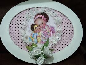 Enfeite porta-maternidade: