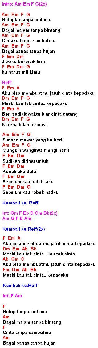 Kumpulan Lirik Lagu Indonesia Dan Mancanegara Terlengkap ...