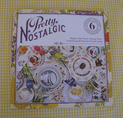 My vintage china is featured in this lovely magazine.
