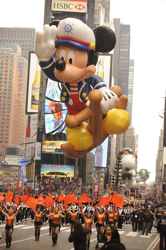 Captain Mickey Thanksgiving Day Parade Focused on the Magic