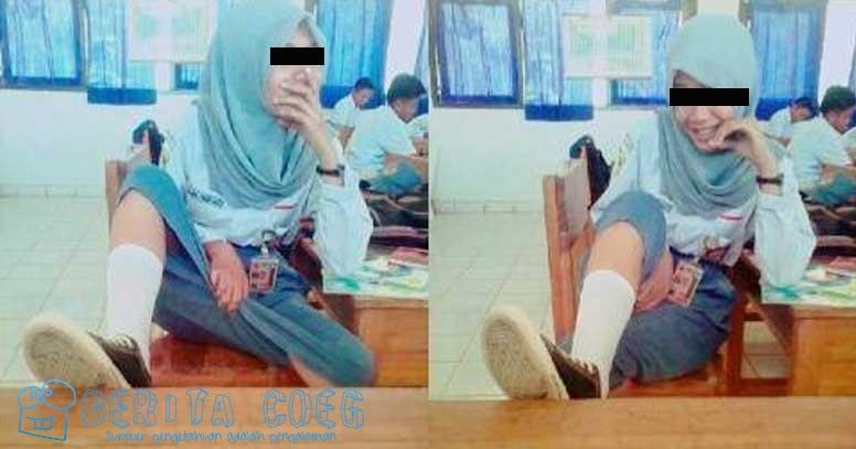 Pelajar ABG Berjilbab ini Sempat Hebohkan Netizen karena Foto-fotonya!