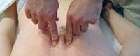 Presiunea cu Degetele