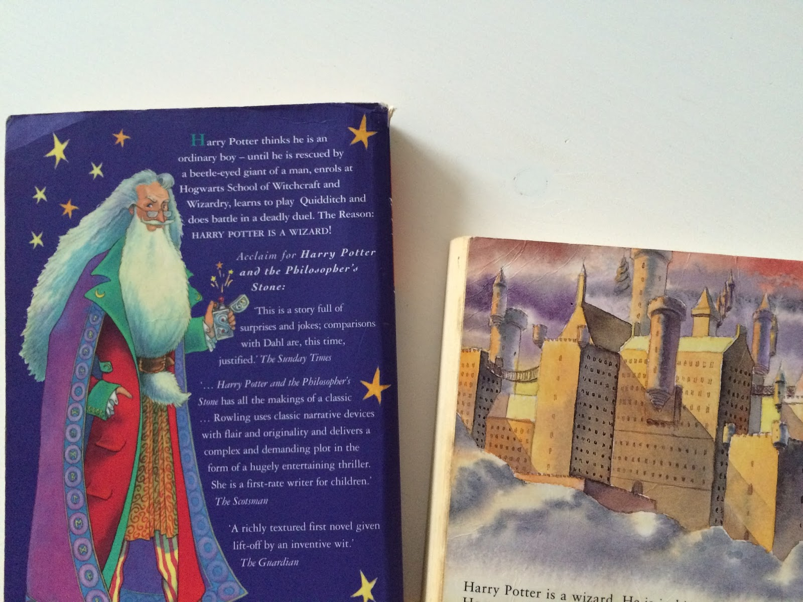 Harry Potter School Book Cover ~ Seven things missing from the harry potter films tartanmouth