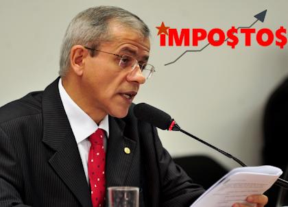 Deputado Nazareno Fonteles-PT defende aumento de impostos no Brasil