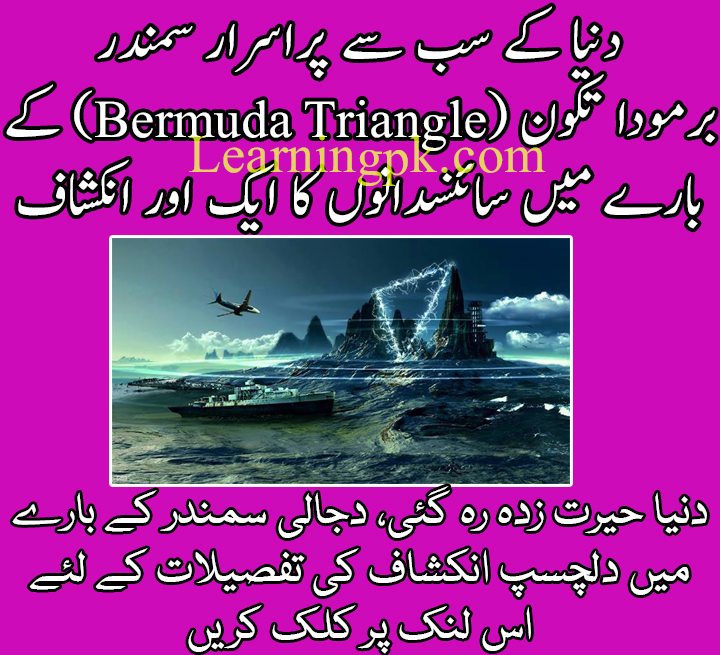 Bermuda triangle essay in urdu