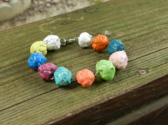 Christian artists street team on etsy wednesday featured for How to make paper mache jewelry