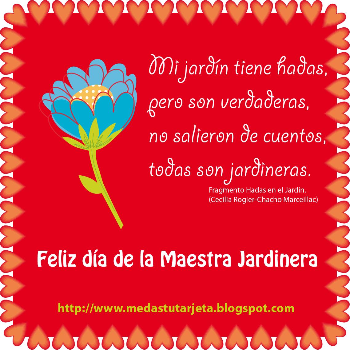 Feliz DIA De La Maestra
