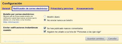 picasa-configuracion-notificacion-de-correo-electronico