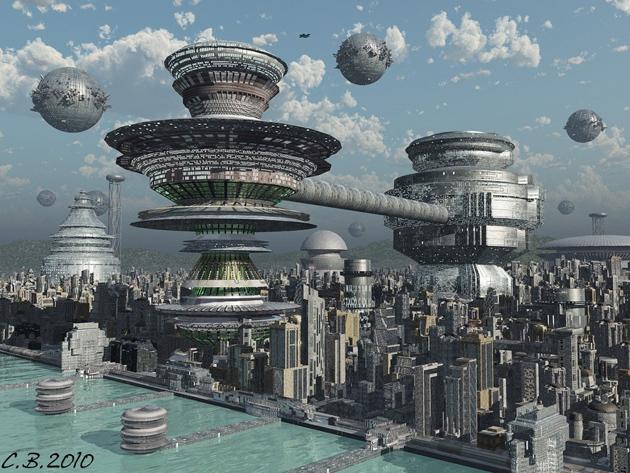 setting futuristik
